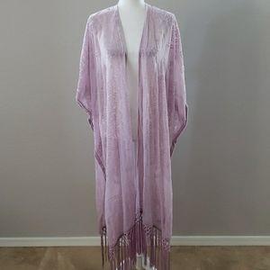 NWOT Torrid Burnout Velvet Kimono